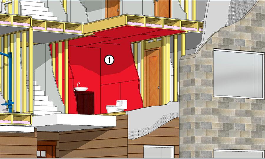 Mold Moisture Resistant Gypsum Panels Multi Family Homes