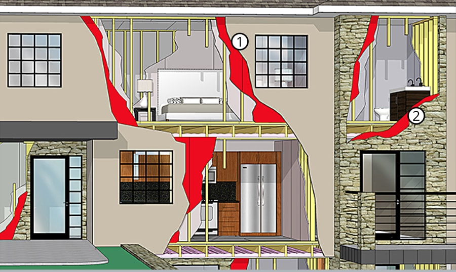 Exterior Gypsum Sheathing Single Family Homes Gypsum Association
